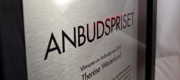 Anbudspriset 2015