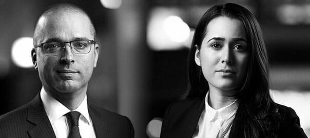 Kristian Pedersen och Tahmina Sahibli