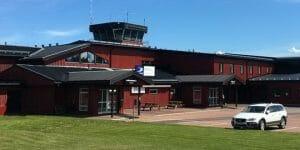 Mora-Siljan flygplats