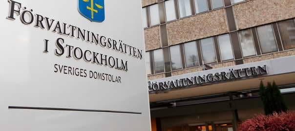 Förvaltningsrätten Stockholm