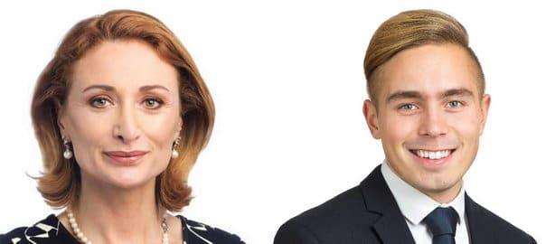 Sylvia Lindén och Jens Nilsson