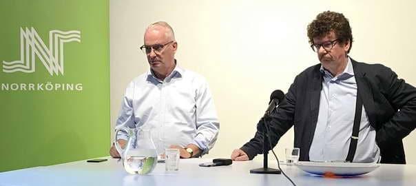 Martin Andreae och Lars Stjernkvist