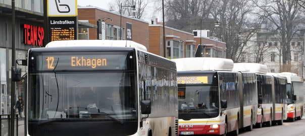 Bussar i Jönköping