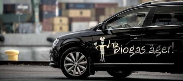 Biogasbil